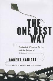 Cover art for THE ONE BEST WAY
