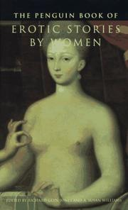 THE PENGUIN BOOK OF EROTIC STORIES BY WOMEN by Richard Glyn  Jones