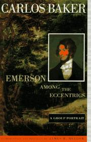 EMERSON AMONG THE ECCENTRICS by Carlos Baker