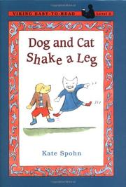 DOG AND CAT SHAKE A LEG by Kate Spohn