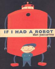 Book Cover for IF I HAD A ROBOT