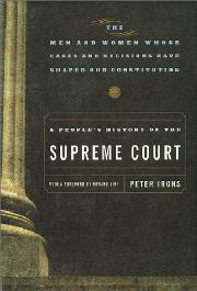 Cover art for A PEOPLE'S HISTORY OF THE SUPREME COURT