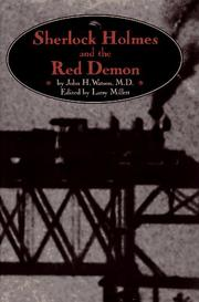 SHERLOCK HOLMES AND THE RED DEMON by Larry Millett