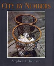 Cover art for CITY BY NUMBERS