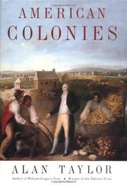Cover art for AMERICAN COLONIES