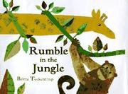 RUMBLE IN THE JUNGLE by Britta Teckentrup