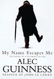 Book Cover for MY NAME ESCAPES ME