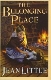 THE BELONGING PLACE by Jean Little