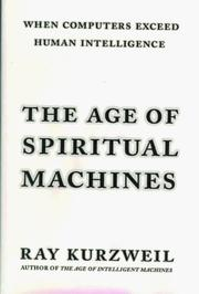 Cover art for THE AGE OF SPIRITUAL MACHINES