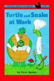 TURTLE AND SNAKE AT WORK by Kate Spohn