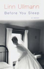 Cover art for BEFORE YOU SLEEP