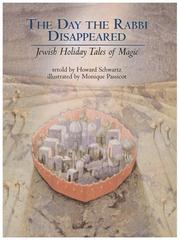 THE DAY THE RABBI DISAPPEARED by Howard Schwartz