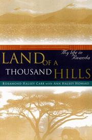 Cover art for LAND OF A THOUSAND HILLS