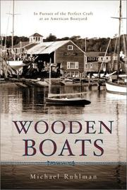 Cover art for WOODEN BOATS