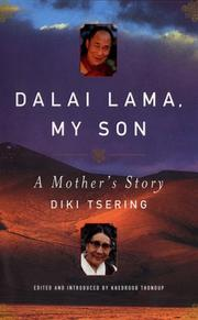 Book Cover for DALAI LAMA, MY SON