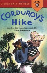 Cover art for CORDUROY'S HIKE