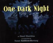 ONE DARK NIGHT by Hazel Hutchins