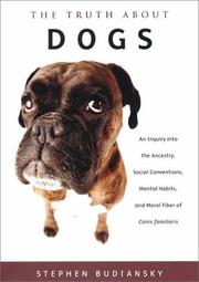 Cover art for THE TRUTH ABOUT DOGS