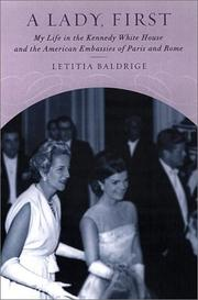 Cover art for A LADY, FIRST