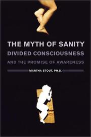 Cover art for THE MYTH OF SANITY