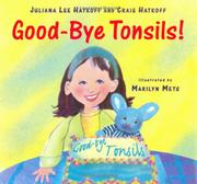 Cover art for GOOD-BYE, TONSILS