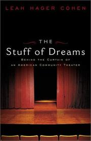 THE STUFF OF DREAMS by Leah Hager Cohen