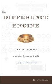 THE DIFFERENCE ENGINE by Doron Swade