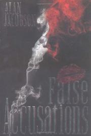 Book Cover for FALSE ACCUSATIONS
