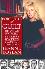 Cover art for PORTRAITS OF GUILT