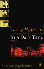 IN A DARK TIME by Lawrence Watson