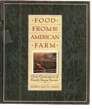 FOOD FROM AN AMERICAN FARM by Janeen Arletta Sarlin