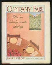 COMPANY FARE by Ronald Johnson