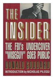 THE INSIDER by Donald Goddard