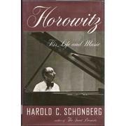 HOROWITZ by Harold C. Schonberg