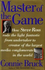 Cover art for MASTER OF THE GAME