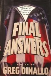FINAL ANSWERS by Greg Dinallo
