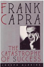 FRANK CAPRA by Joseph McBride