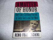 A MATTER OF HONOR by Remo Franceschini