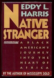 NATIVE STRANGER by Eddy Harris