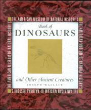 Book Cover for THE AMERICAN MUSEUM OF NATURAL HISTORY'S BOOK OF DINOSAURS AND OTHER ANCIENT CREATURES