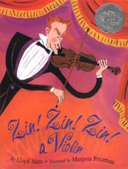 Cover art for ZIN! ZIN! ZIN! A VIOLIN