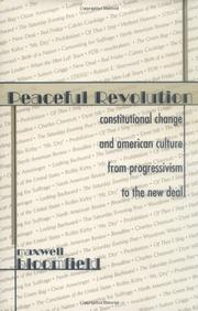 PEACEFUL REVOLUTION by Maxwell Bloomfield