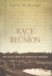 Cover art for RACE AND REUNION