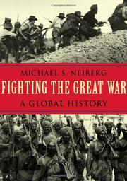 Cover art for FIGHTING THE GREAT WAR