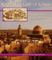 CITY OF THE GREAT KING by Nitza Rosovsky