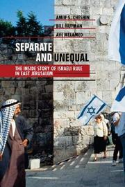 SEPARATE AND UNEQUAL by Amir S. Cheshin