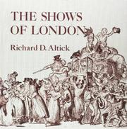 THE SHOWS OF LONDON by Richard D. Altick