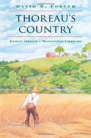 Book Cover for THOREAU'S COUNTRY