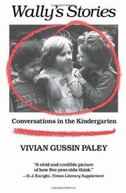 WALLY'S STORIES by Vivian Gussin Paley