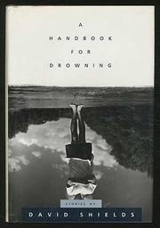 Cover art for A HANDBOOK FOR DROWNING